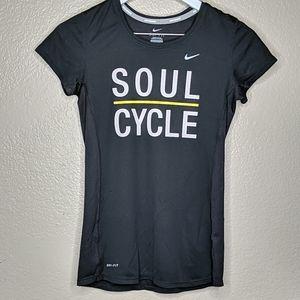 Nike xs soul cycle black T-shirt